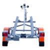 Laadukkaista materiaaleista valmistettu venetraileri. Suositeltu maksimissaan 4,5m pitkille vesijeteille.