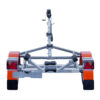 Laadukkaista materiaaleista valmistettu venetraileri. Suositeltu maksimissaan 4,5m pitkille veneille